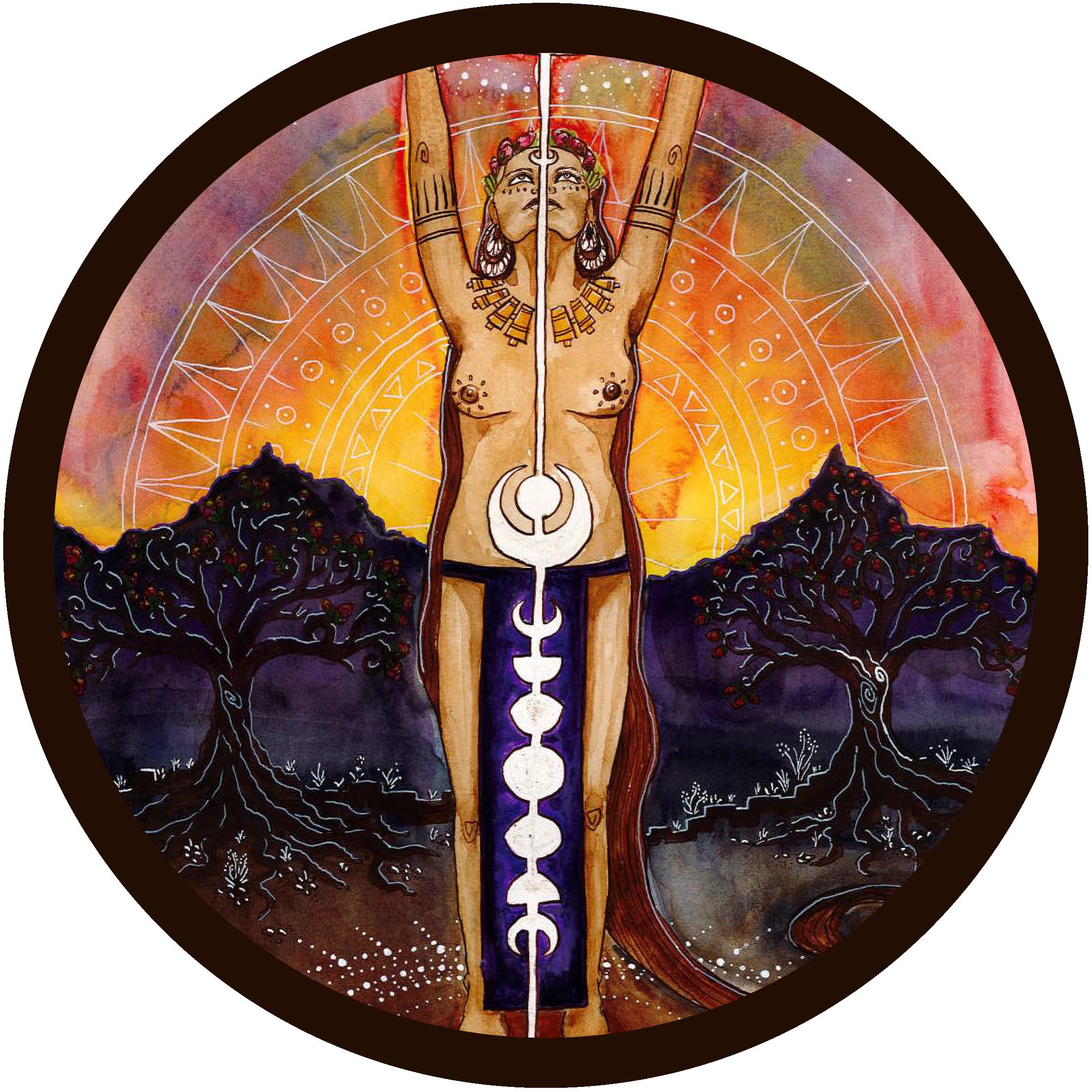 Goddess Art Thumbnails_Menarche
